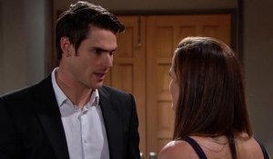 Adam and Chelsea square off Young and Restless