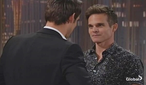 Adam and Kevin spar verbally Young and Restless