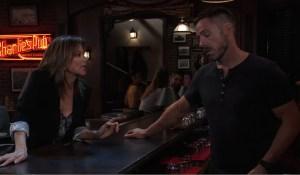 Alexis warns Julian on General Hospital