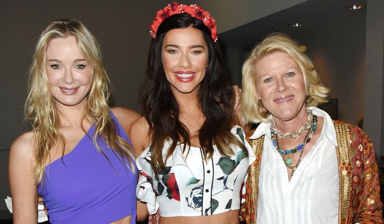 Jennifer Gareis, Jacqueline Wood, Alley Mills Bold and Beautiful fan event