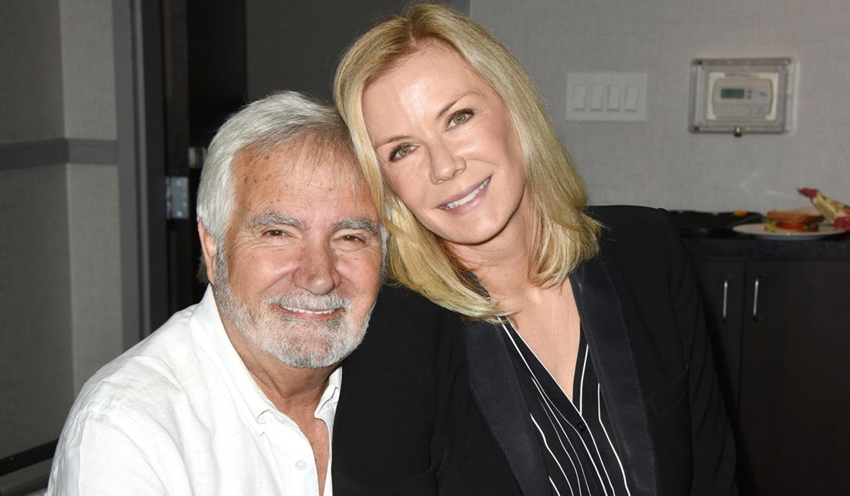 John McCook Katherine Kelly Lang fan event bold and Beautiful