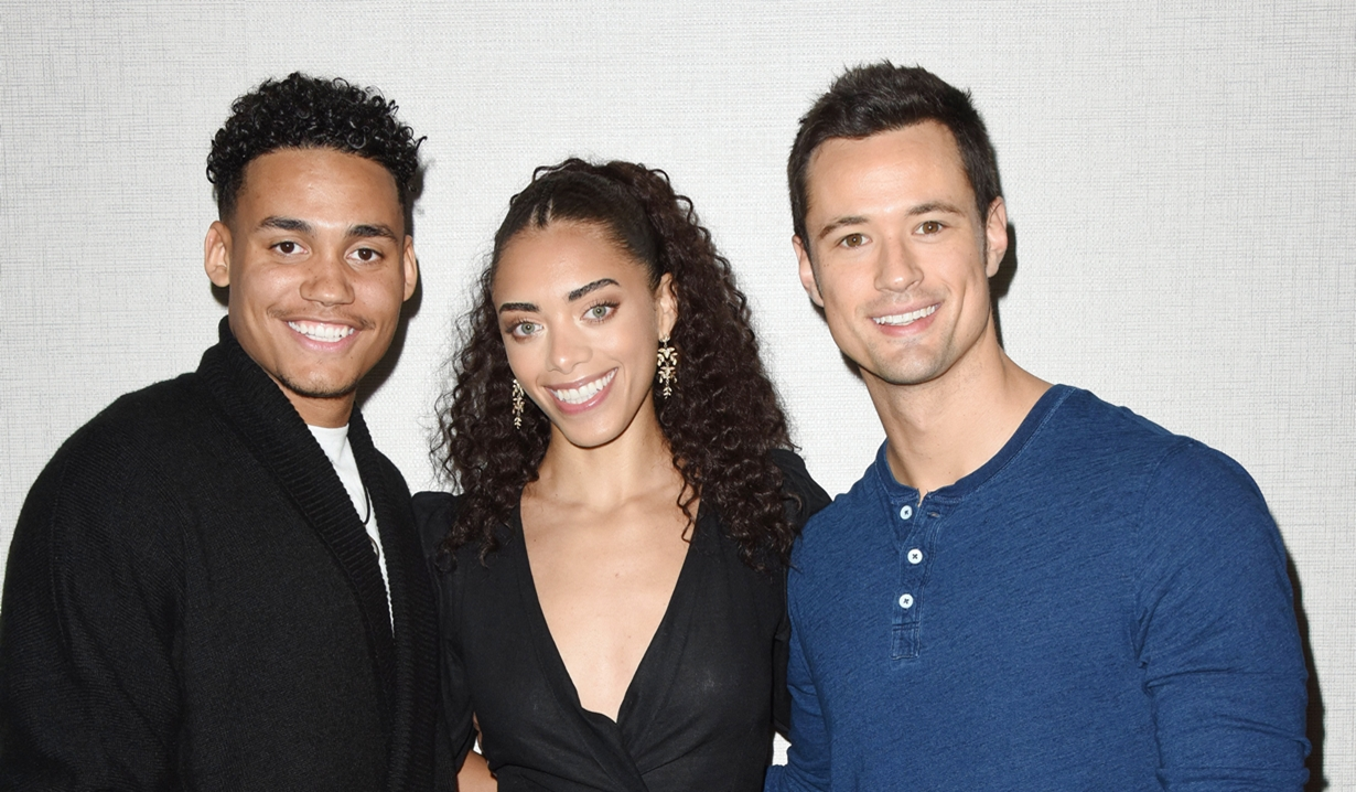 Xander, Zoe, Thomas Bold and Beautiful fan event