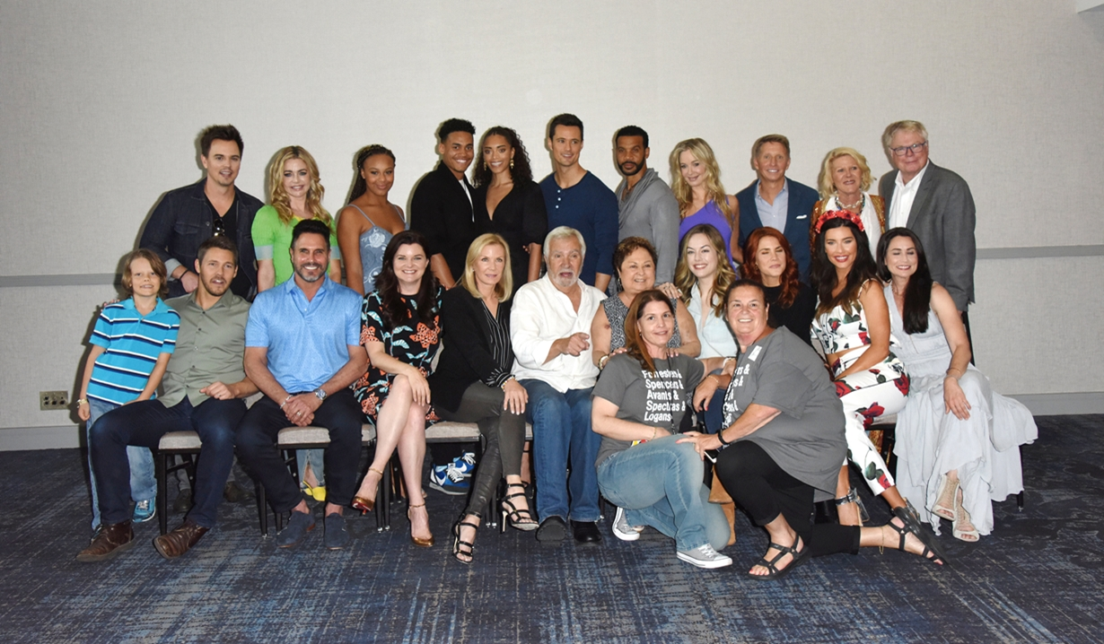 Bold and Beautiful fan event cast