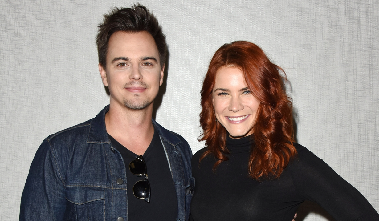 Darin Brooks Courtney Hope Bold and Beautiful fan event