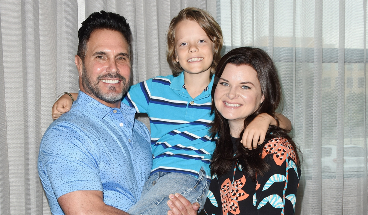 Don Diamont Heather Tom Bold and Beautiful fan event