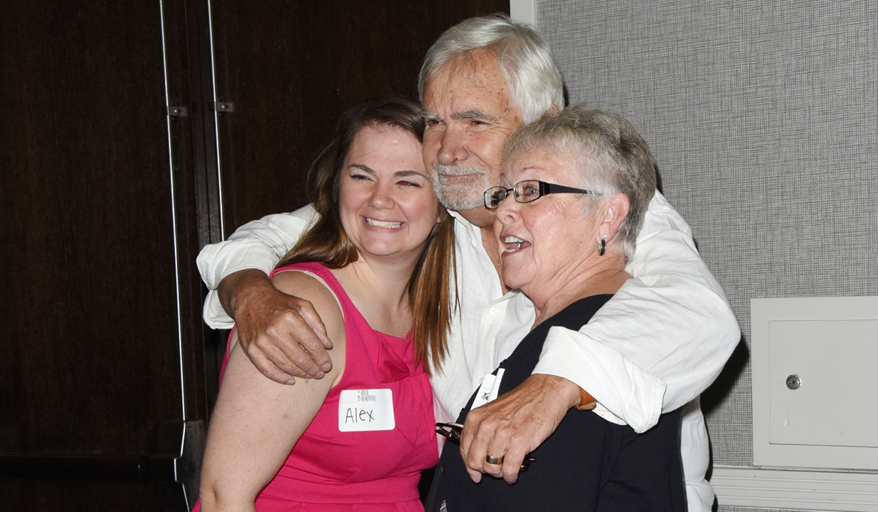 John McCook fans Bold and Beautiful fan event
