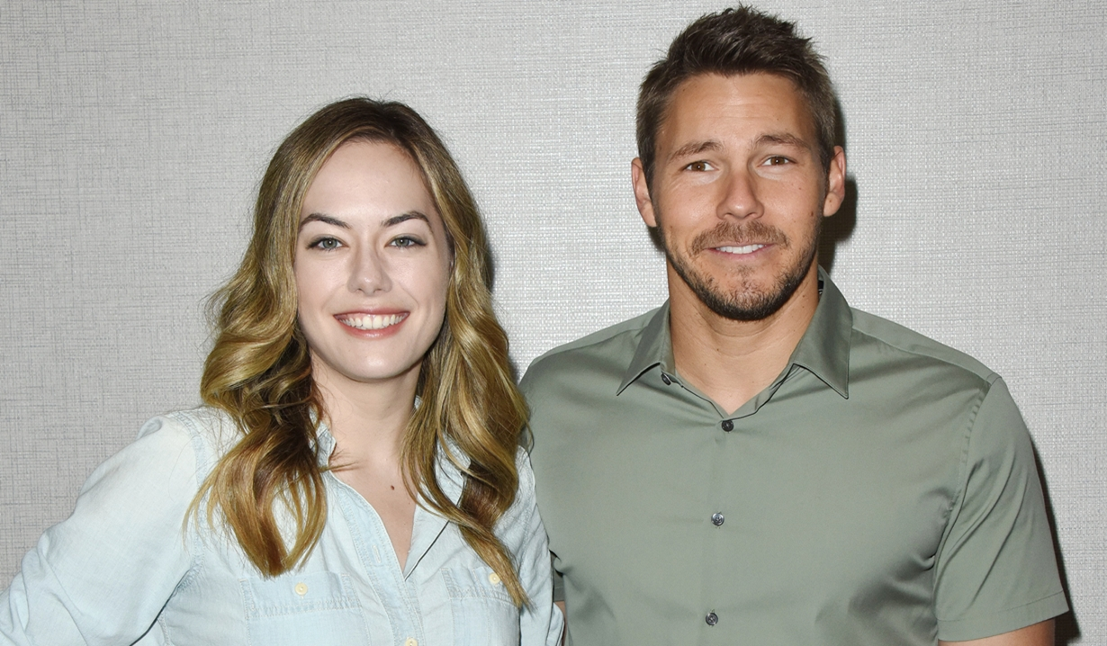 Annika Noelle Scott Clifton Bold and Beautiful fan event