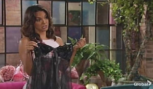 Celeste lingerie Young and Restless