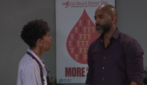 Curtis and Stella discuss Ryan General Hospital