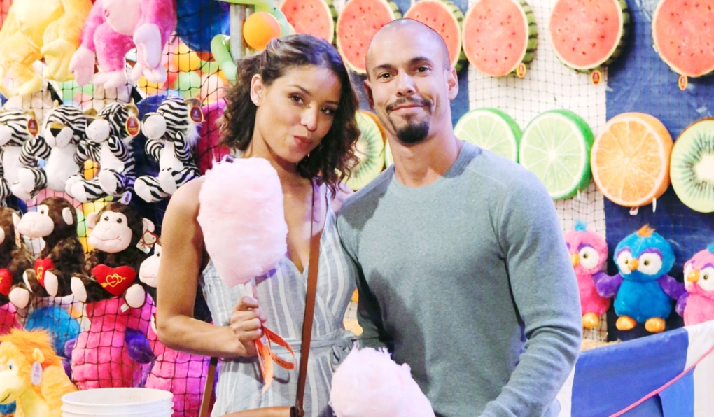 Elena Devon carnival on Young and Restless