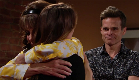 Esther Chloe Kevin reunion on Young and Restless