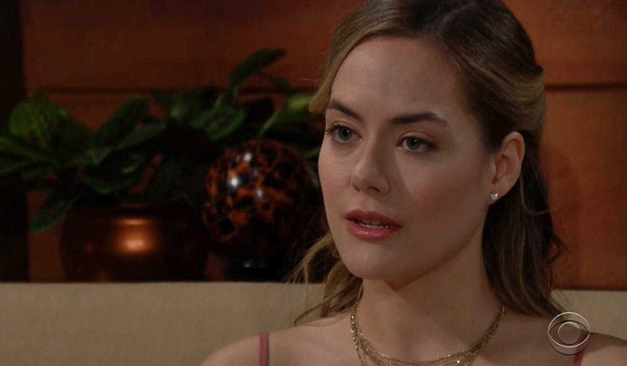 Hope warning from Brooke about Thomas Bold and Beautiful