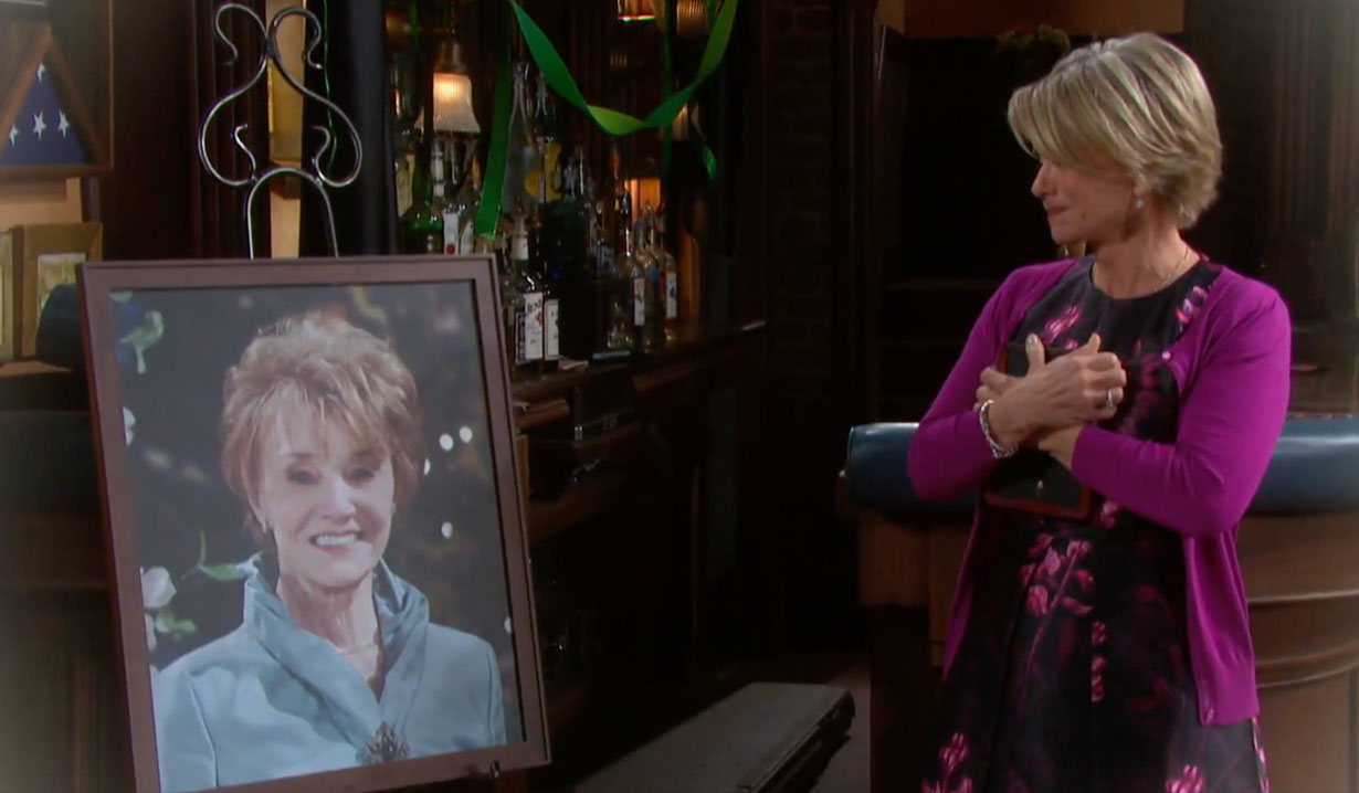 Caroline Brady honored on Days of our Lives