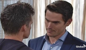 Adam gives Kevin a task Young and Restless