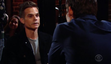 Kevin Blackmails Adam on Young and the Restless