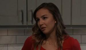 Kristina asks Sonny for something General Hospital