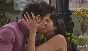 Kyle Lola kiss Young and Restless