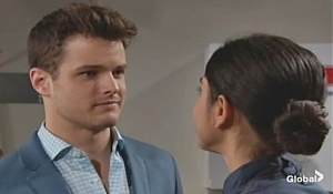 Kyle proposal Young and Restless