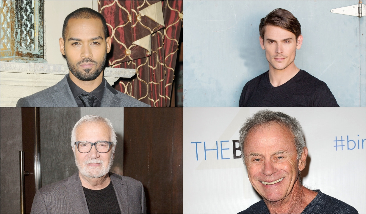 Lamon Archey, Mark Grossman John McCook Tristan Rogers, Bold and Beautiful, Days of our Lives, General Hospital, Young and Restless