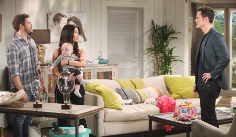 Liam and Steffy face Thomas on Bold and Beautiful