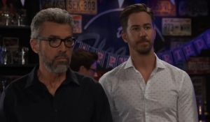 Mac and Peter listen to Maxie General Hospital