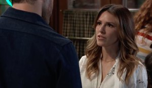 Margaux warns Shiloh on General Hospital