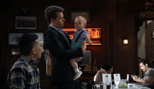 Michael holds Wiley on General Hospital