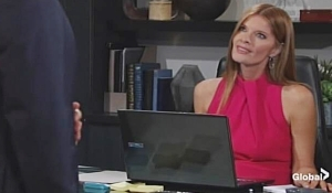 Michael questions Phyllis Young and Restless