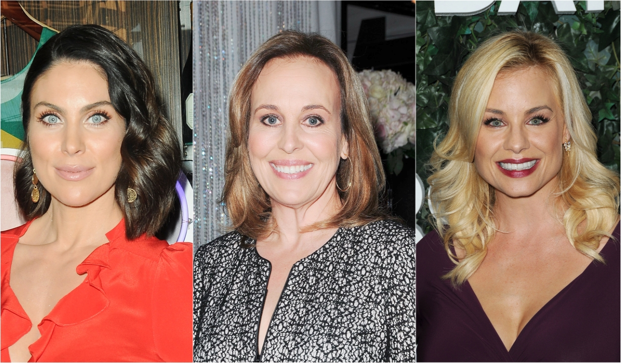 Nadia bjorlin genie francis jessica collins soaps news days of our lives general hospital the young and the restless the bold and beautiful