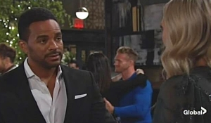 Nate apologizes to Abby Young and Restless