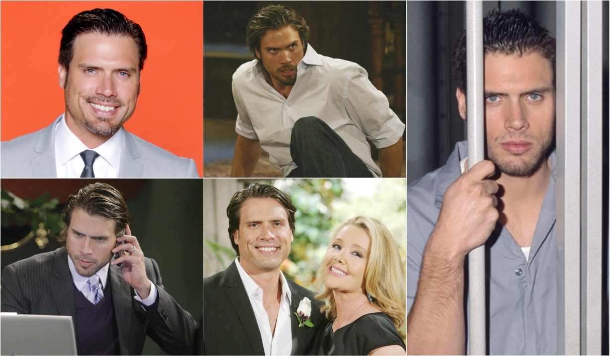 Nick Newman through the years Young and Restless