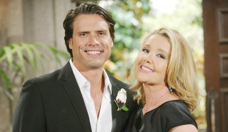 nick nikki son and mom Y&R