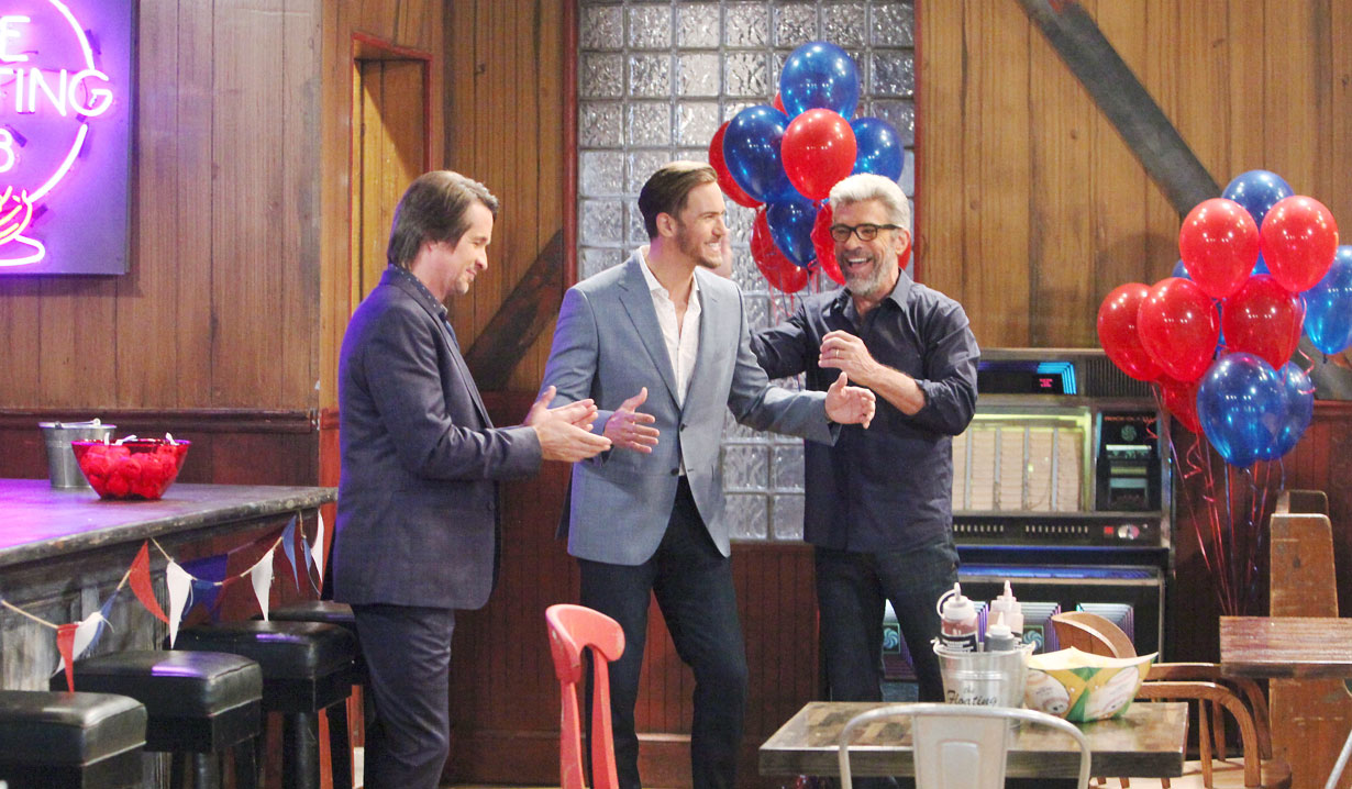 Peter's surprise party on General Hospital