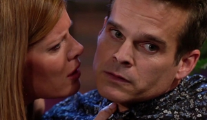 Phyllis grabs Kevin on Young and Restless