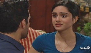 Rey advises Lola on Young and Restless