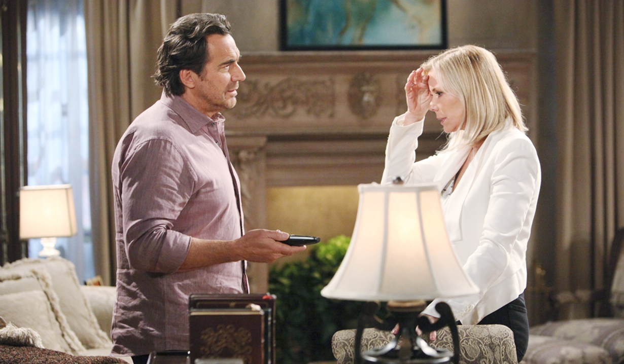 Ridge and Brooke discuss Emma's death Bold and Beautiful