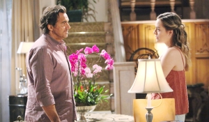 Ridge and Hope talk on Bold and Beautiful