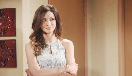 Riza Questions Phyllis on Young and the Restless