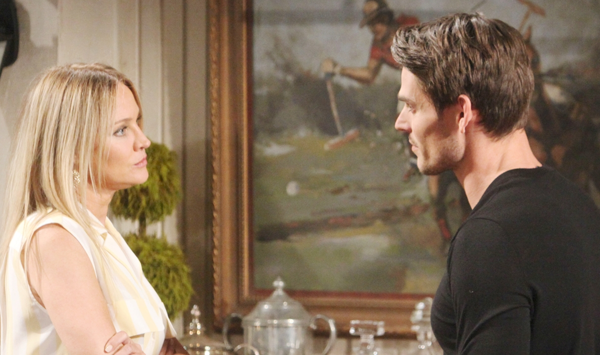 c25d69e19 Young and the Restless Recap: Sharon Wants Adam Out of Her Life ...