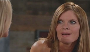 Phyllis snarks at Sharon Young and Restless