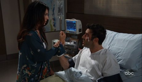 Shiloh threatens Harmony on General Hospital