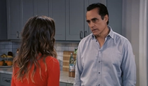 Kristina and Sonny talk Dawn of Day  General Hospital