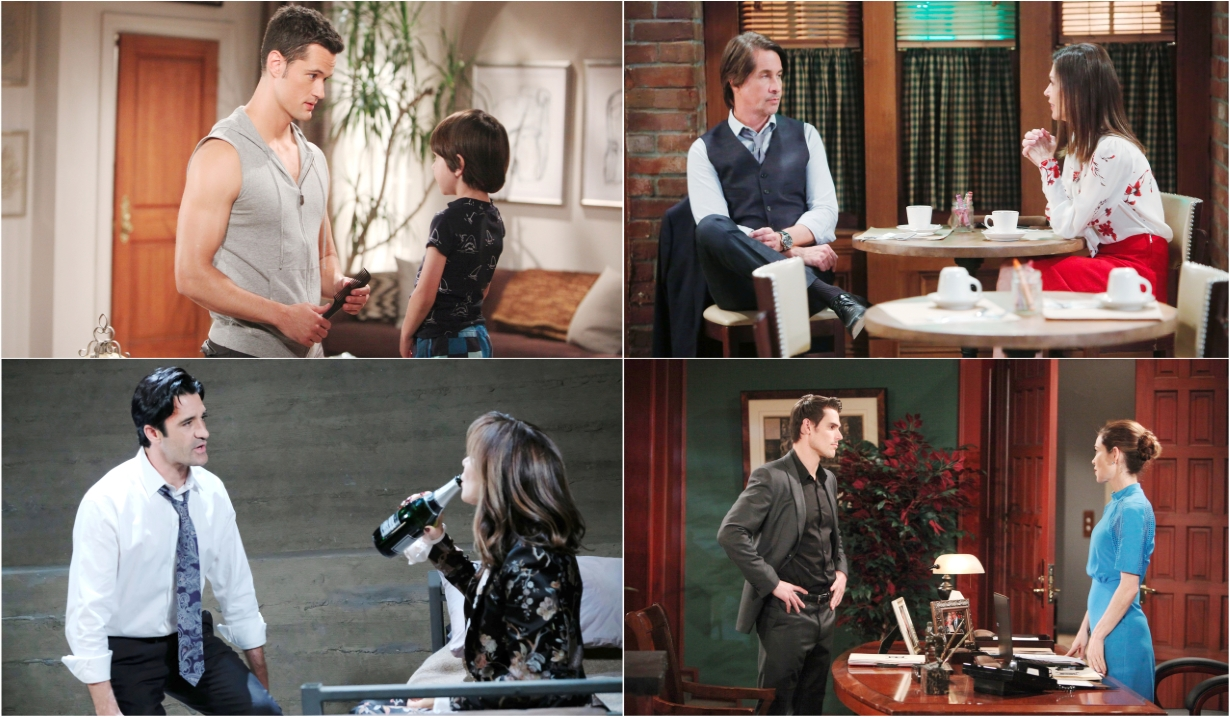 7-01-19 spoilers for bold and beautiful days of our lives general hospital young and restless