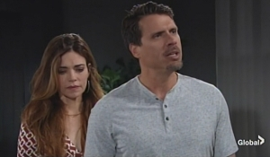 Victoria Nick confront Adam Young and Restless