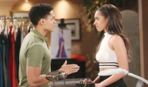 Xander pleads with Zoe on Bold and Beautiful