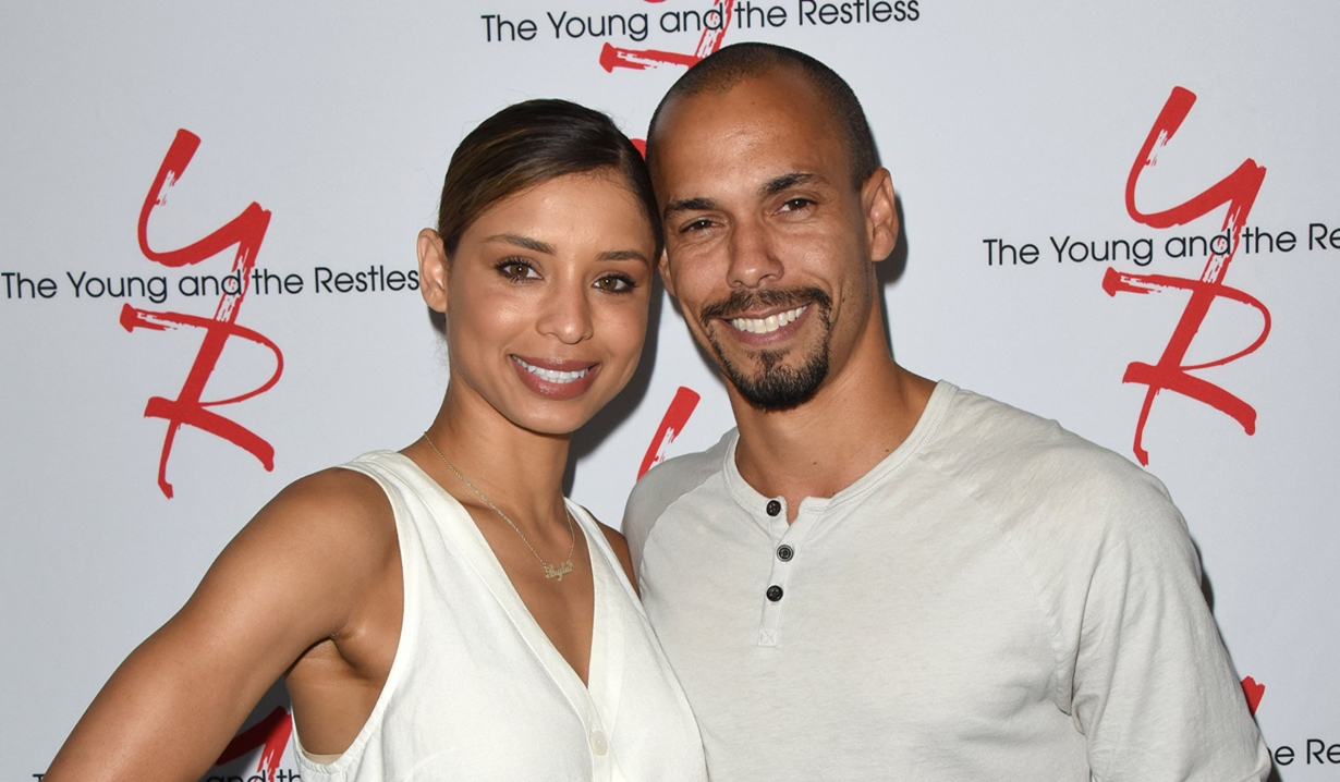 Brytni Sarpi Bryton James Fan event young and restless