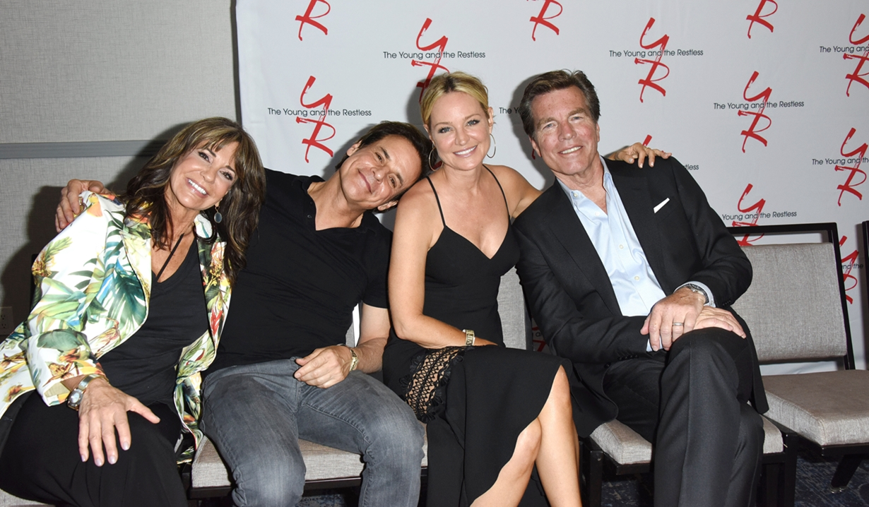Jess Walton, Christian LeBlanc, Sharon Case, Peter Bergman Fan event young and restless