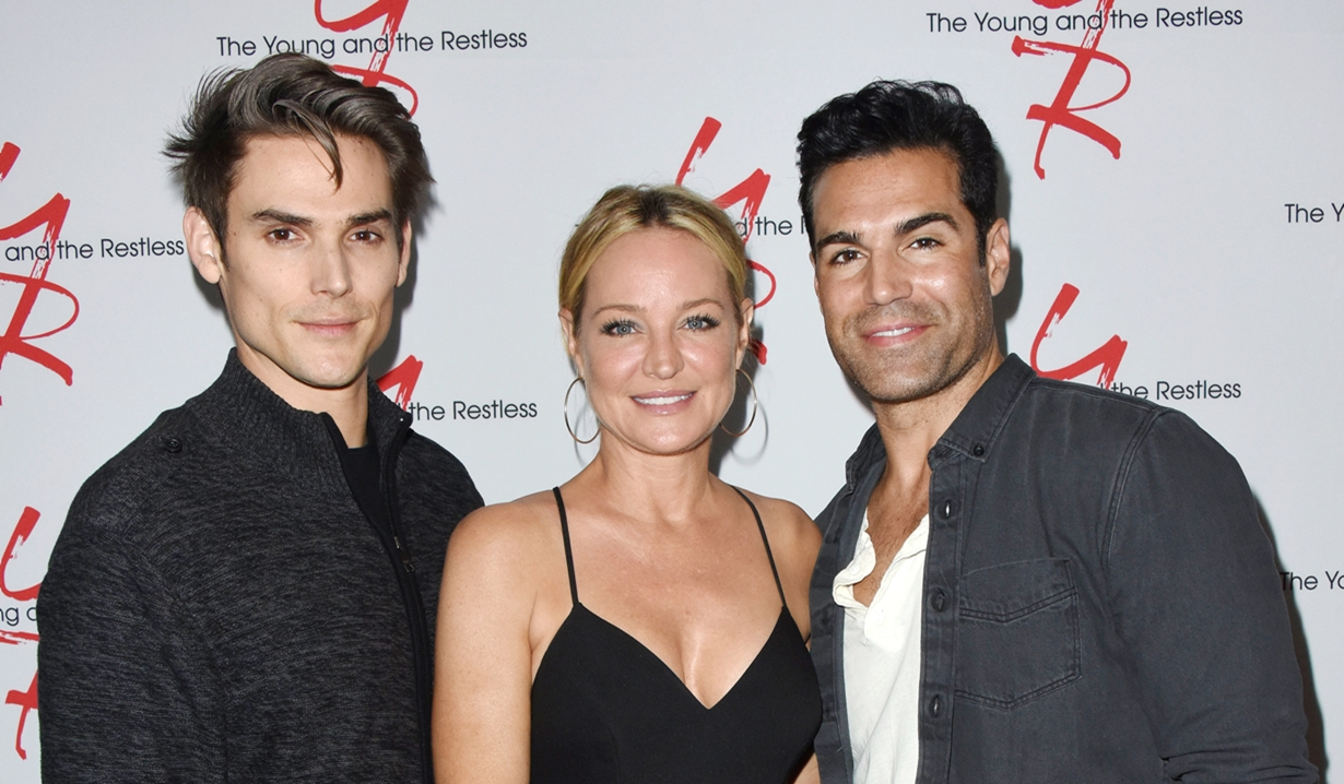 Mark Grossman Sharon Case Jordi Vilasuso Fan event young and restless