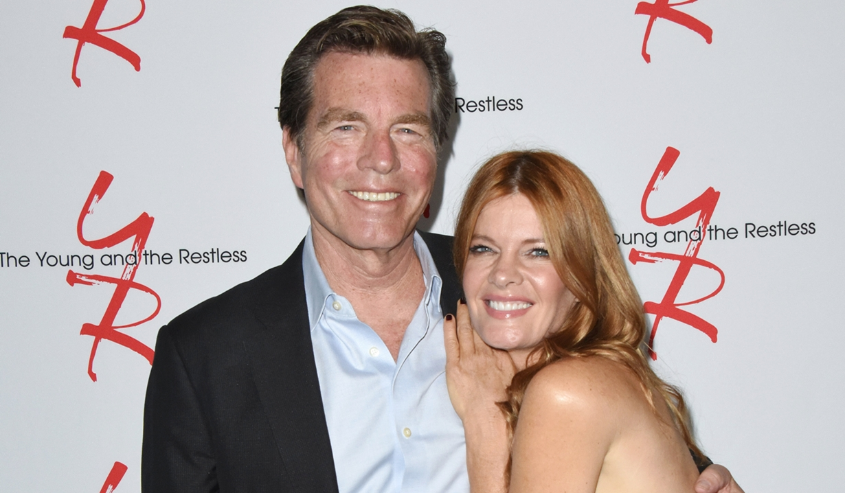 Peter Bergman Michelle Stafford Fan event young and restless