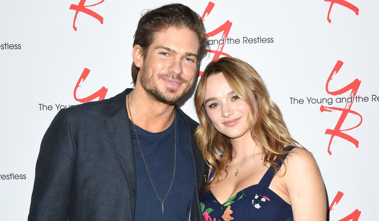 Tyler Johnson Hunter King Fan event young and restless